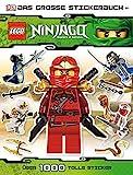LEGO Ninjago: Das große Stickerbuch - über 1.000 tolle Sticker